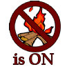 Burn Ban is ON!